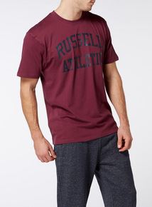 Online Exclusive Russell Athletic Burgundy Tee