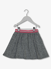 Grey Knitted Skirt (3-12 years)