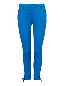 Skinny Twill Jeans