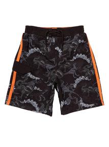 Multicoloured Dino Swim Shorts (4 - 14 years)
