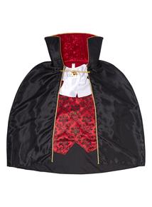Adult Black Vampire Dress Up Costume