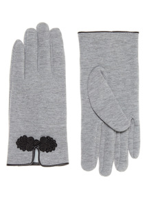 Embellished Detail Gloves