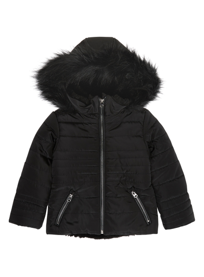 top-rated genuine prevalent shop for original SKU SS15 PH4 SHORT BLACK BOW POCKET PUFFA:Black