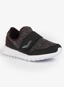 Black & Grey One-Touch Trainer (Infant 6-4)