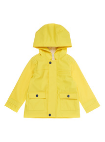Boys Yellow Hooded Jacket (0 - 24 months)