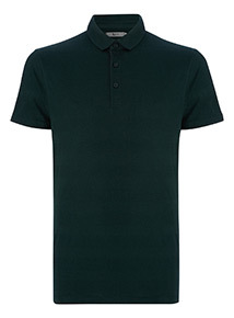 Khaki Stripe Polo Shirt