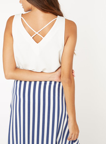 Cross Back Camisole Vest