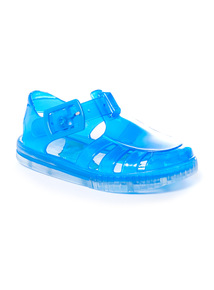 Blue Jelly Sandals (2-5 infant)