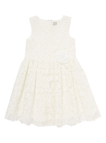 White Floral Dress (3-12 years)