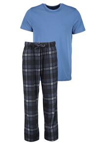 Navy Check Bottom Pyjamas