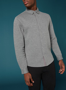 Premium Grey Quilted Shirt