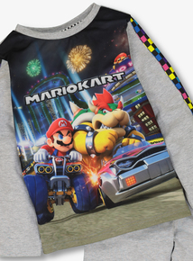 Mariokart Multicoloured Pyjamas (3-12 Years)