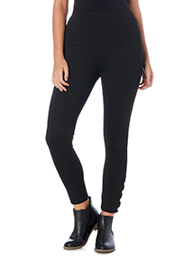 Black Nautical Leggings