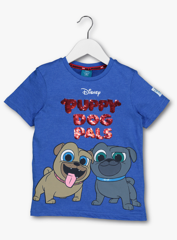 76481b09c ... Kids · All Boy's Clothing · Boy's T-Shirts & Tops; Disney 'Puppy Dog  Pals' T-Shirt (9 months-6 years). STYLE AW18 DISNEY PUPPY DOG PALS - Multi  Coloured