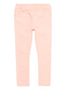 Girls Pink Denim Jeggings (3 - 14 years)