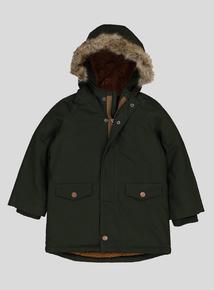 Khaki Parka Jacket (9 months- 6 years)