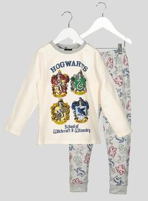 Harry Potter Long Sleeve Pyjama Set (4- 12 Years)