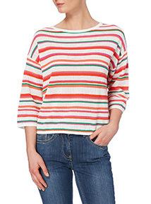 Multicoloured Striped Jumper