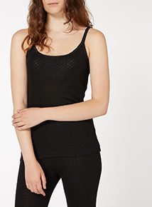 Pointelle Thermal Camisole
