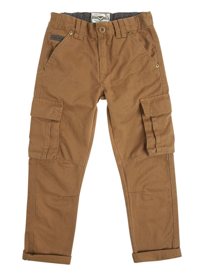 77a8f8823 Kids Boys Brown Cargo Trousers (3 - 12 years) | Tu clothing