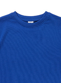Blue Crew Neck T-Shirt (3-12 years)