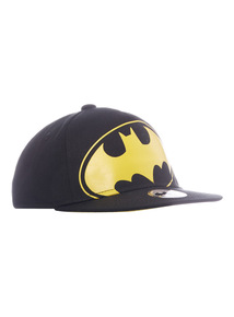 Black Batman Cap (1 - 12 years)