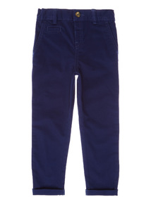 Navy Cotton Chinos (9 months-6 years)