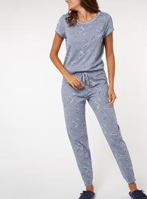 Feather Print Pyjamas