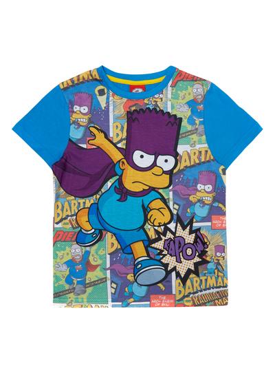 61971f68 Kids Boys Multicoloured Bart Simpson T-Shirt (3-12 years) | Tu clothing