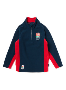Red And Navy England Rugby Fleece (1-14 years)