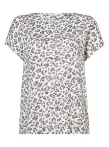 Multicoloured Animal Pattern Top