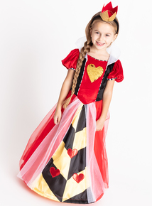 Disney Queen of Hearts Red Costume (3-12 years)