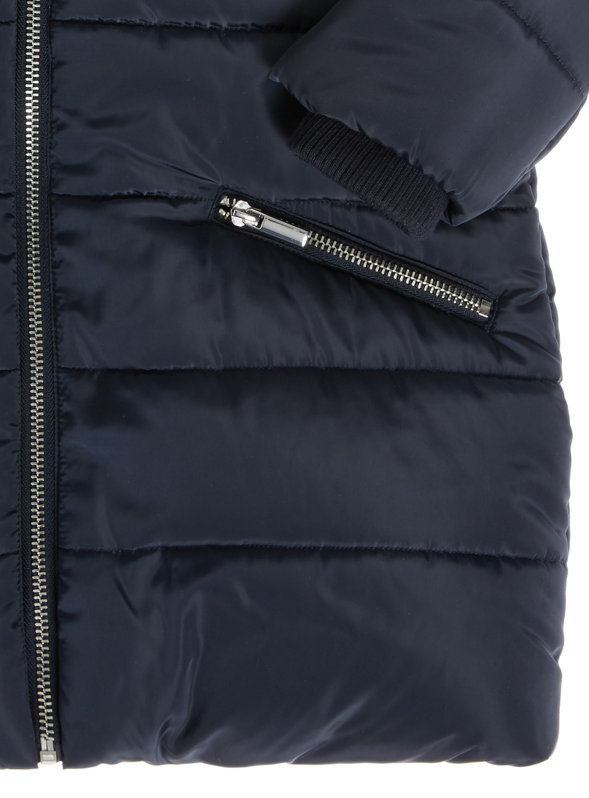 Kids Navy Quilted Jacket (3-16 years) | Tu clothing : navy quilted jacket - Adamdwight.com