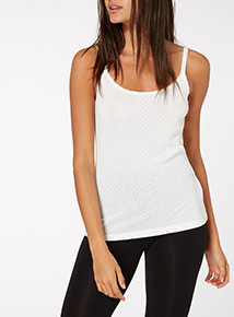 Pointelle Cami Top