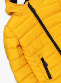 Mustard Yellow Puffer Coat (3-14 years)