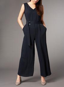 Premium Pinstripe Jumpsuit