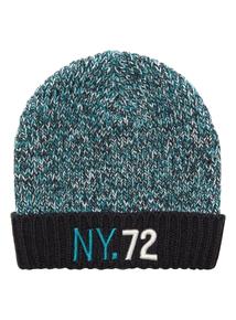 Boys Twisted Yarn Beanie Hat (3-12 years)
