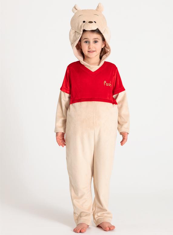3b75b6182688 Fancy Dress Disney Winnie The Pooh Beige All In One Costume (1-8 years)