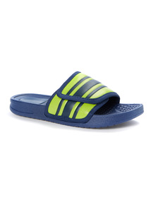 Navy Pool Slider Shoes