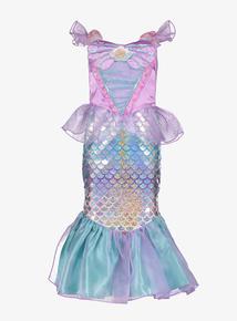 6204bb8c3 Disney Princess Ariel Lilac & Green Mermaid Costume Set (3-10 years)