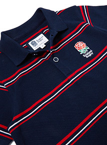 Multicoloured England Rugby Polo Shirt (1-14 years)