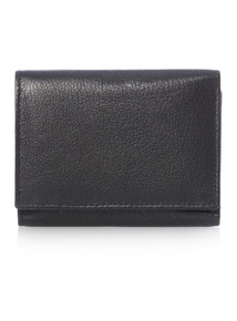 Black Trifold Card Wallet