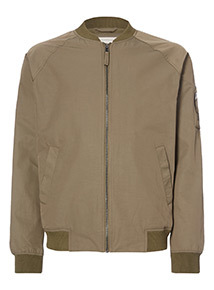 Admiral Light Khaki Baseball Jacket