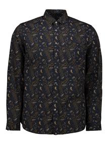 Admiral Navy Paisley Shirt