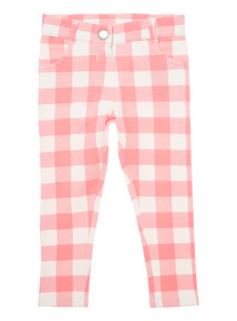 Pink Gingham Jeggings (9 months - 6 years)