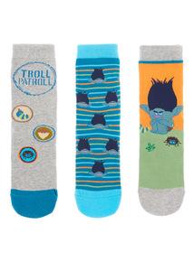 Trolls Socks 3 Pack