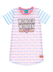 Blue Wonder Woman Nightie (3 - 12 years)
