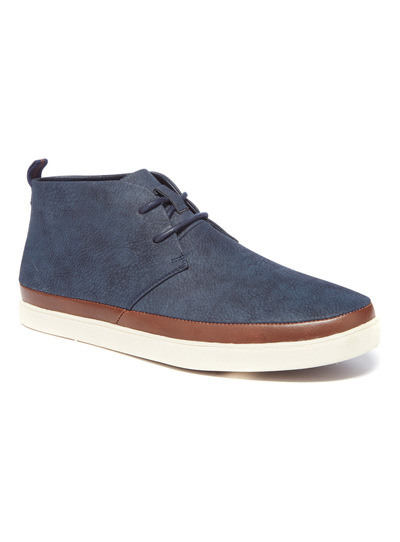 Mixed Fabric Chukka Boot