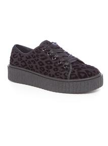 Animal Print Creeper Shoes