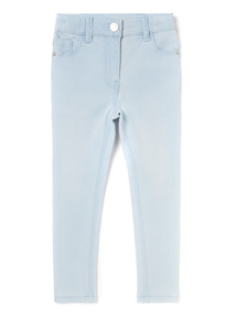 Light Denim High Waisted Skinny Jeans (3-14 years)